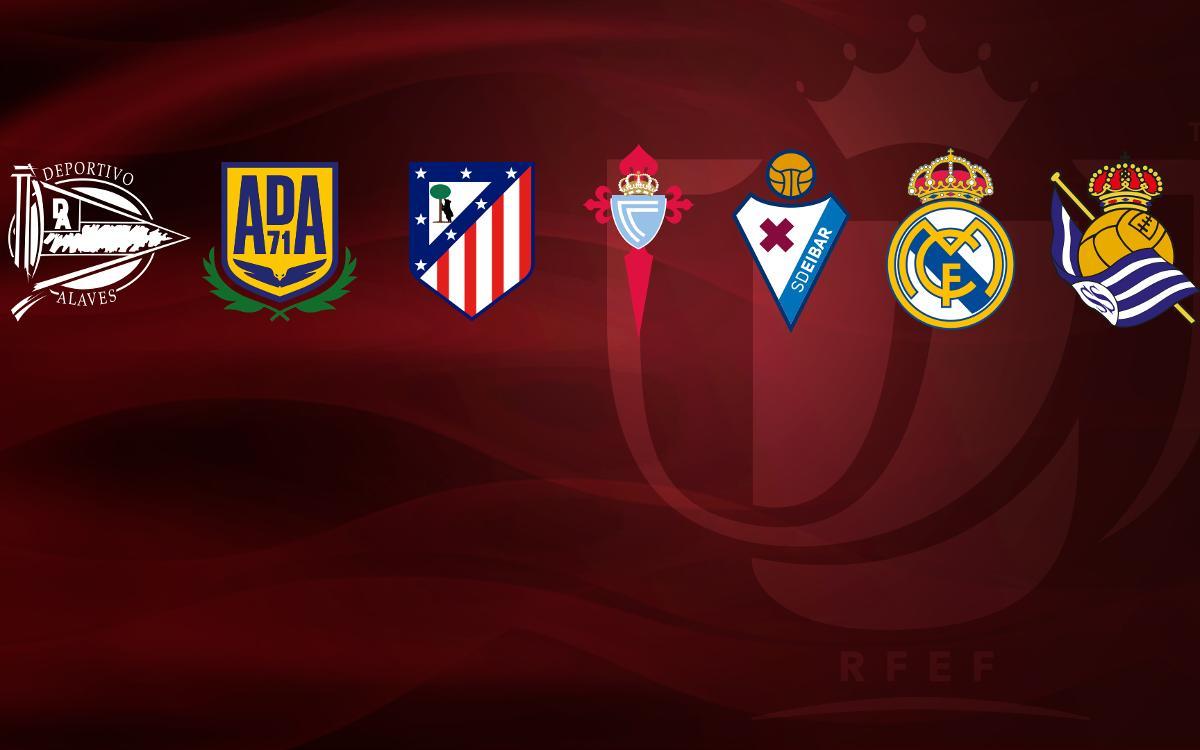 Los siete posibles rivales del Barça en los cuartos de Copa