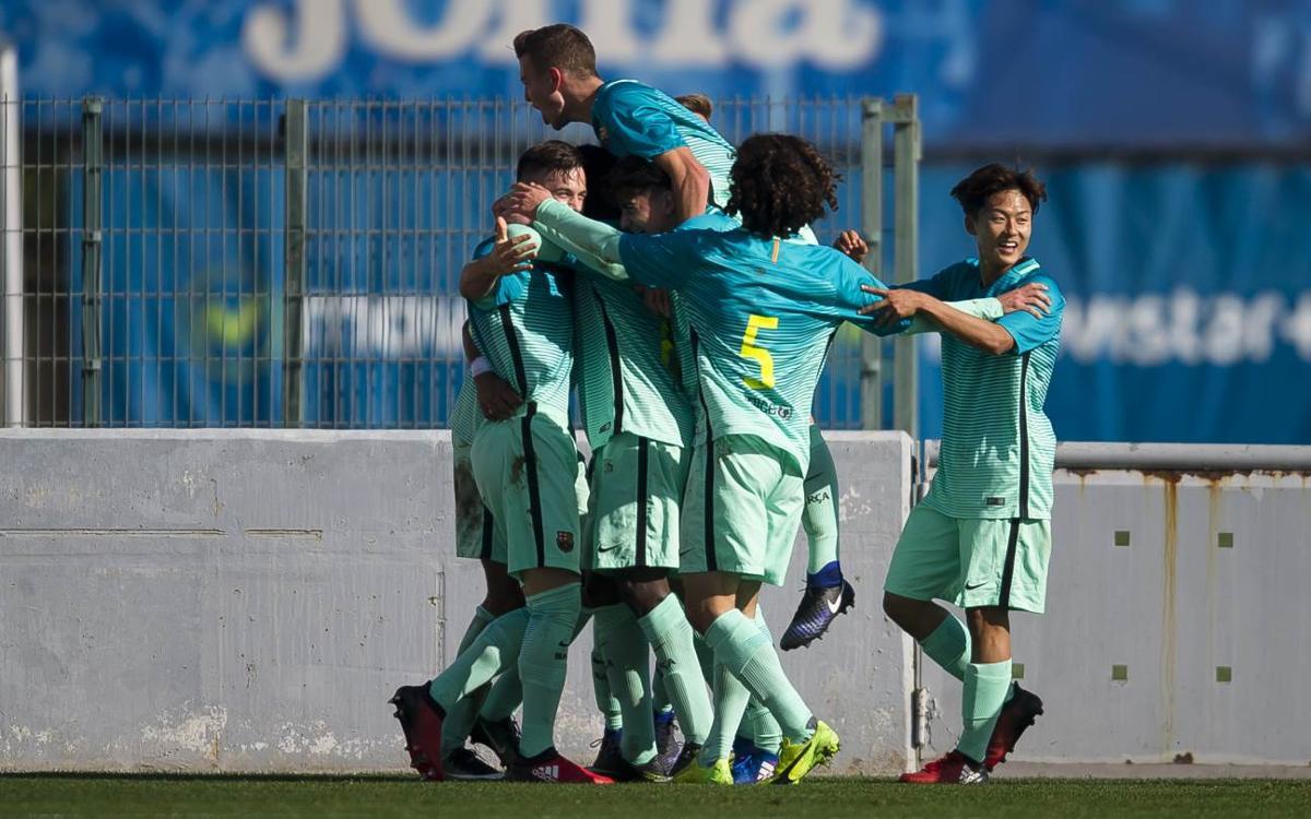 RCD Espanyol - Juvenil A: Victoria contra el segundo para acariciar el título (0-1)