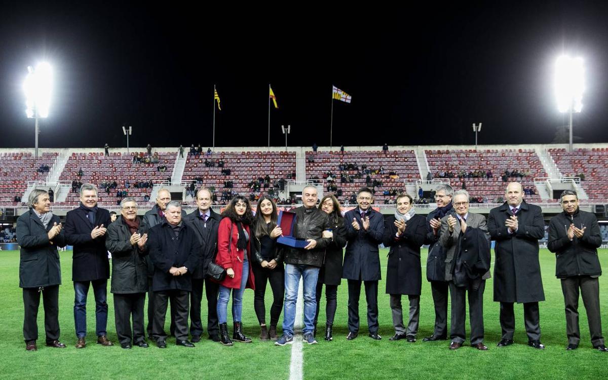 Toni Alonso, 25 anys sent delegat del Barça B