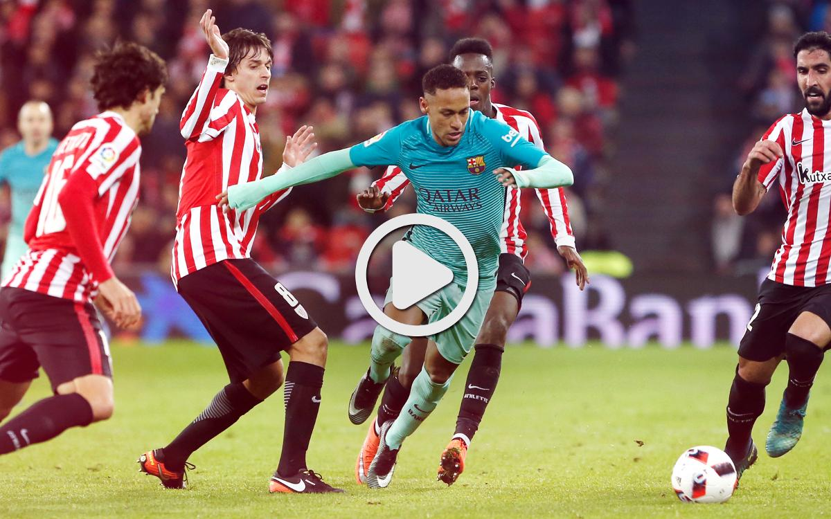 Video highlights: Athletic Club vs FC Barcelona