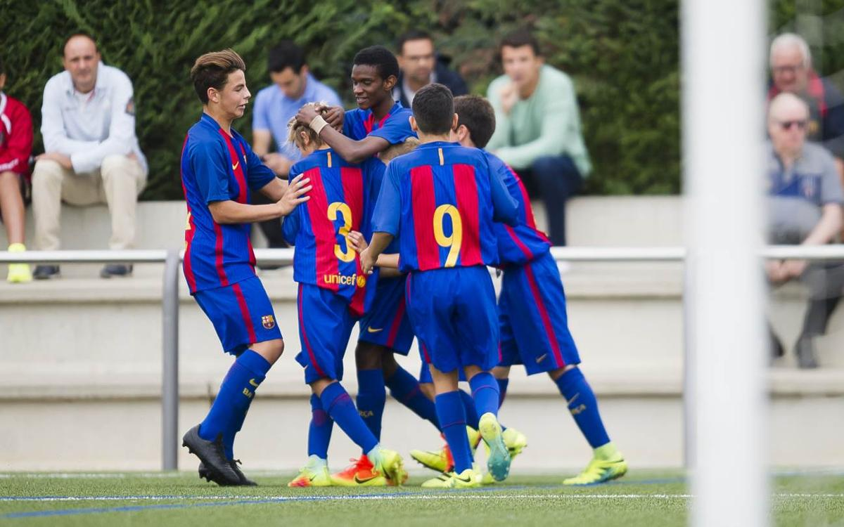 The top five La Masia goals from the first weekend of the year scored by Barça's academy players