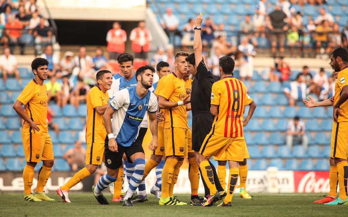 FC Barcelona B outmuscle Hércules, 3–1