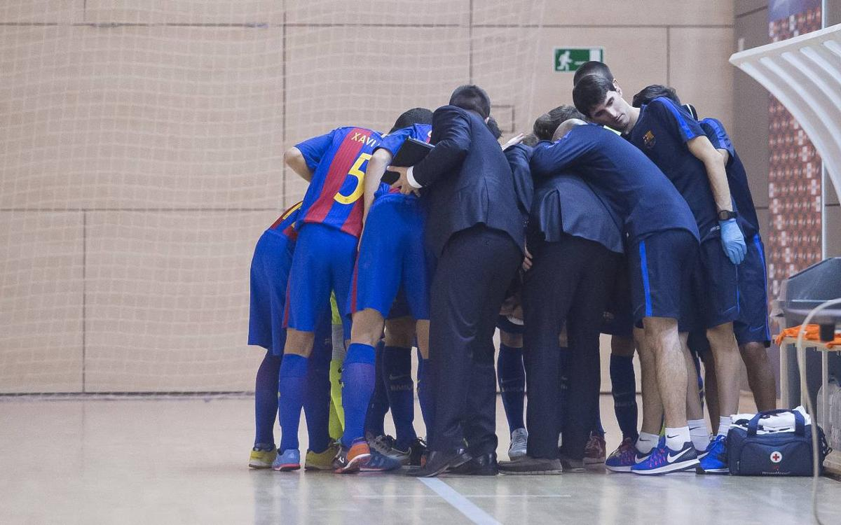 Barça B y Naturpellet Segovia se disputan el liderato de Segunda