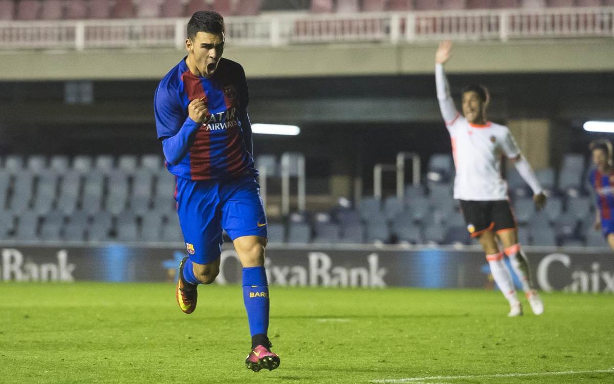 Dani Romera, 14 goles en un año de azulgrana