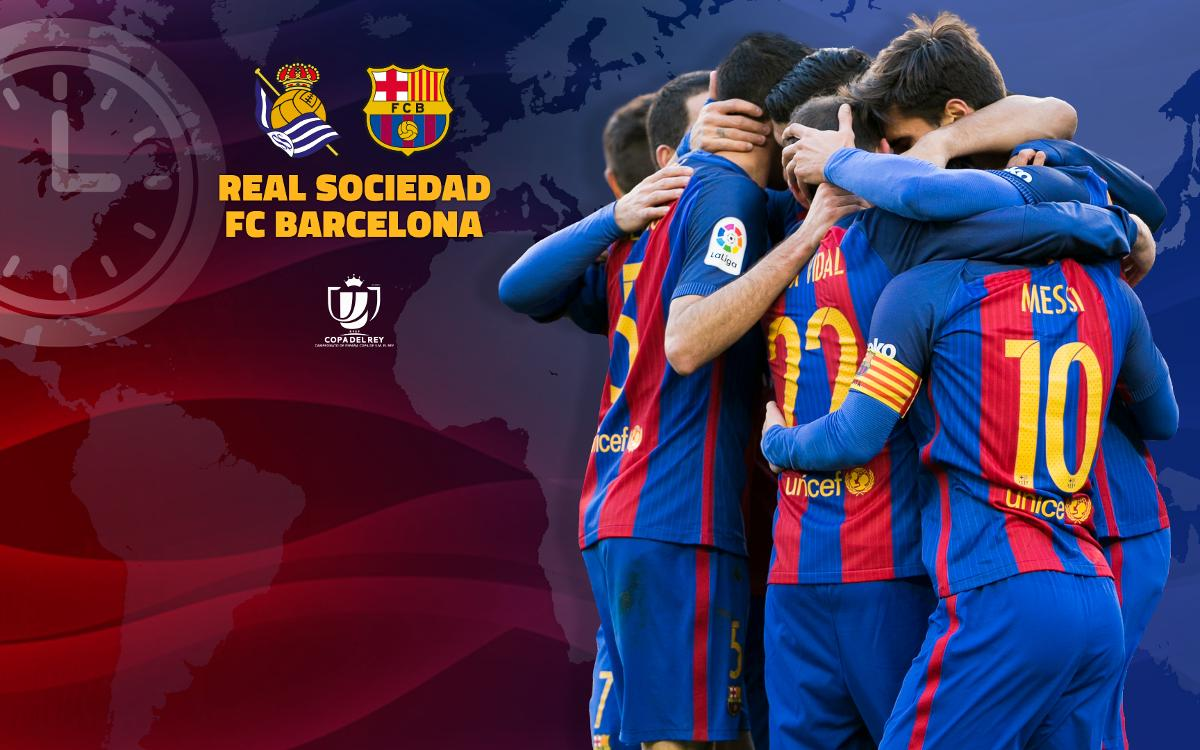 Cuándo y dónde se puede ver el Real Sociedad - FC Barcelona