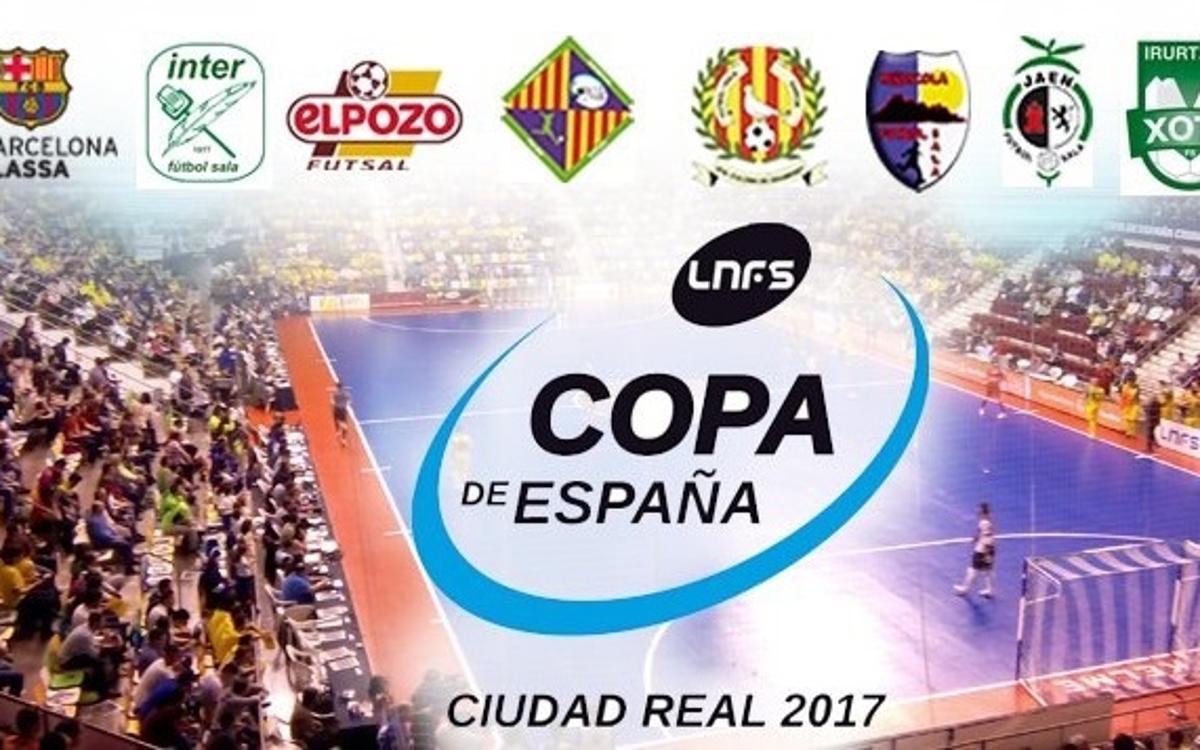 Ya se pueden reservar entradas para la Copa de España a través del Club