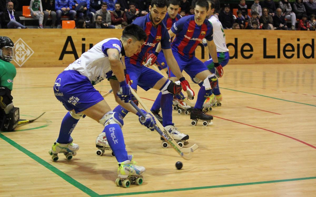 ICG Software Lleida - FC Barcelona Lassa: Continúan las buenas sensaciones (4-6)