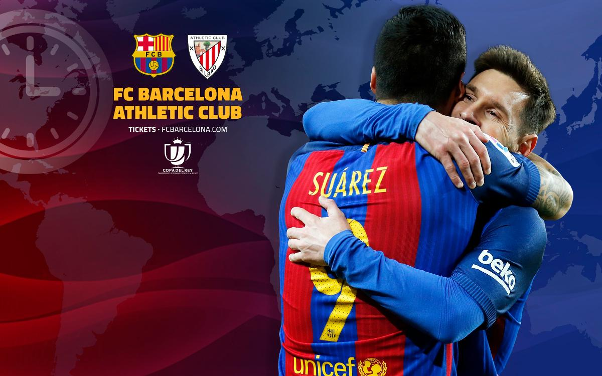 When and where to watch FC Barcelona v Athletic Club