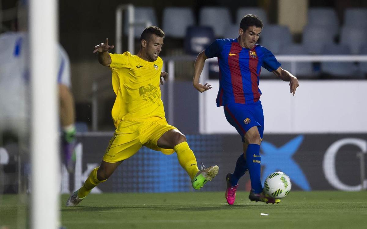 At. Saguntino - Barça B: Comenzar la segunda vuelta con buen pie