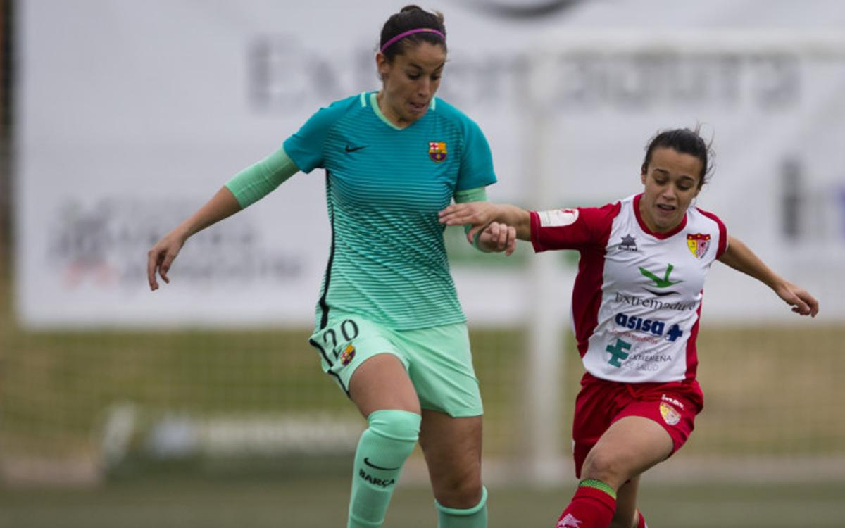 Santa Teresa CD - FC Barcelona Femenino: Tropiezo en tierras extremeñas (2-0)