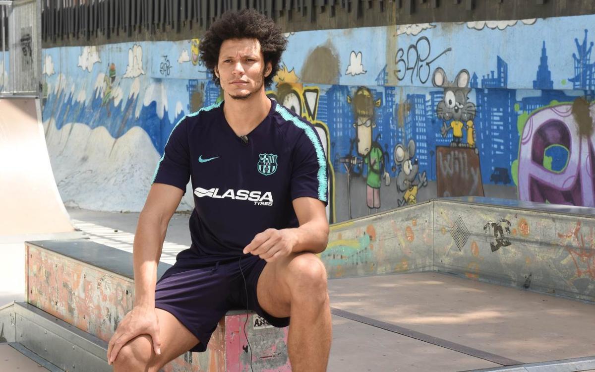 """Thiagus Petrus: """"Soc un jugador d'equip"""""""