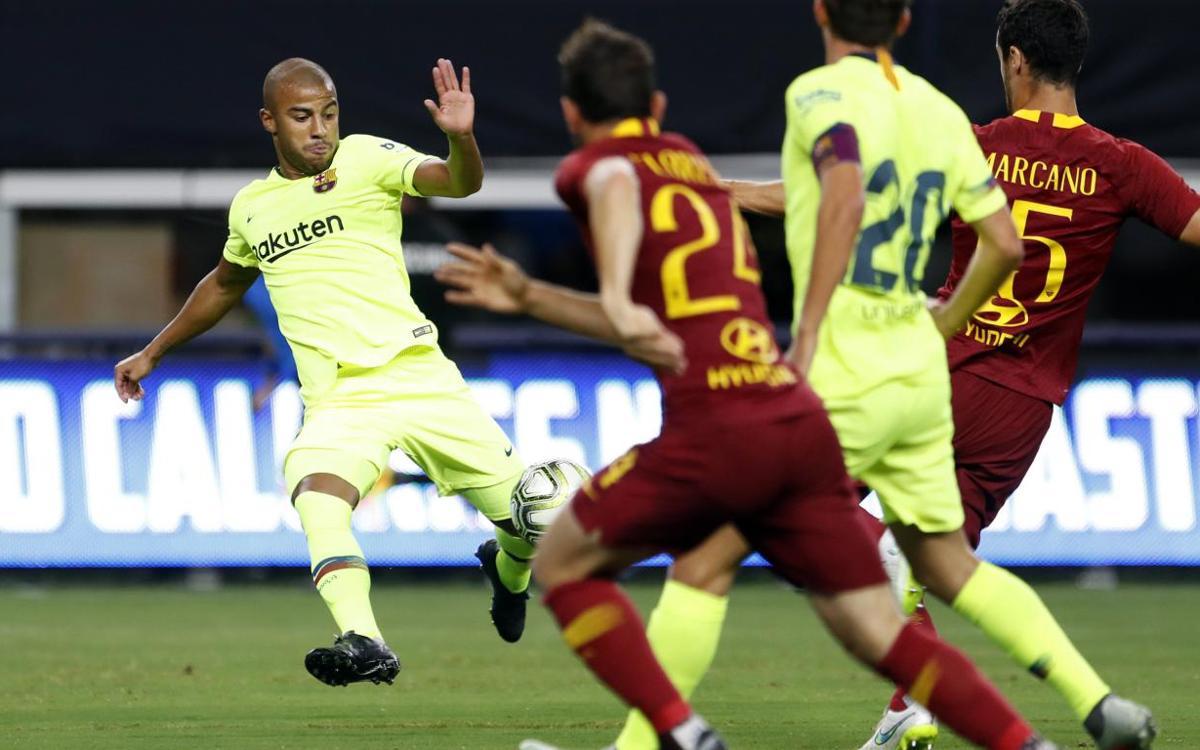 Los goles del FC Barcelona - AS Roma