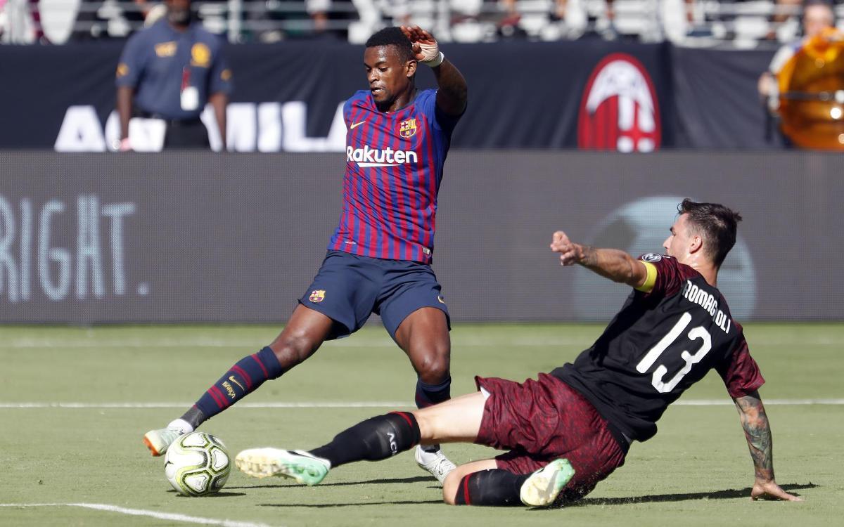 AC Milan - FC Barcelona: Buen Barça pese a la derrota final (1-0)