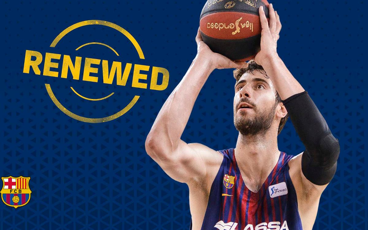 Ante Tomic, blaugrana until 2020
