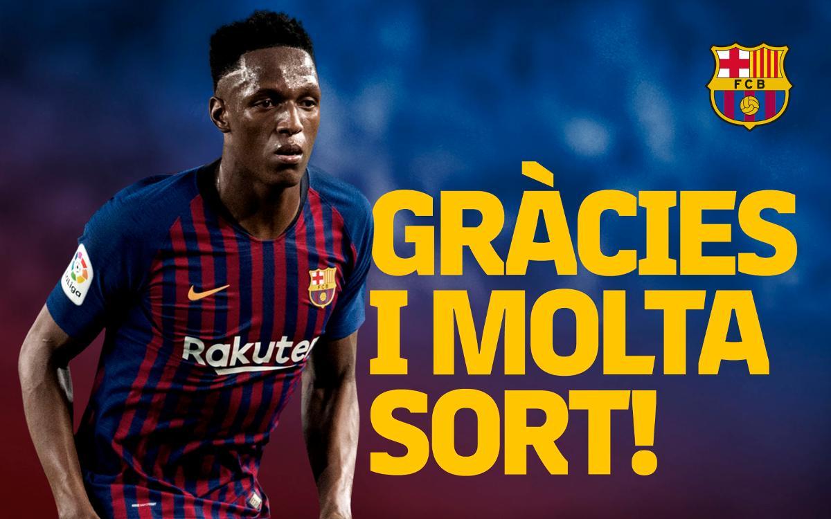 Acord amb l'Everton per al traspàs de Yerry Mina