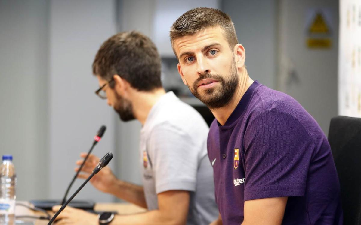 Piqué: 'Now it's time to keep winning trophies with Barça'