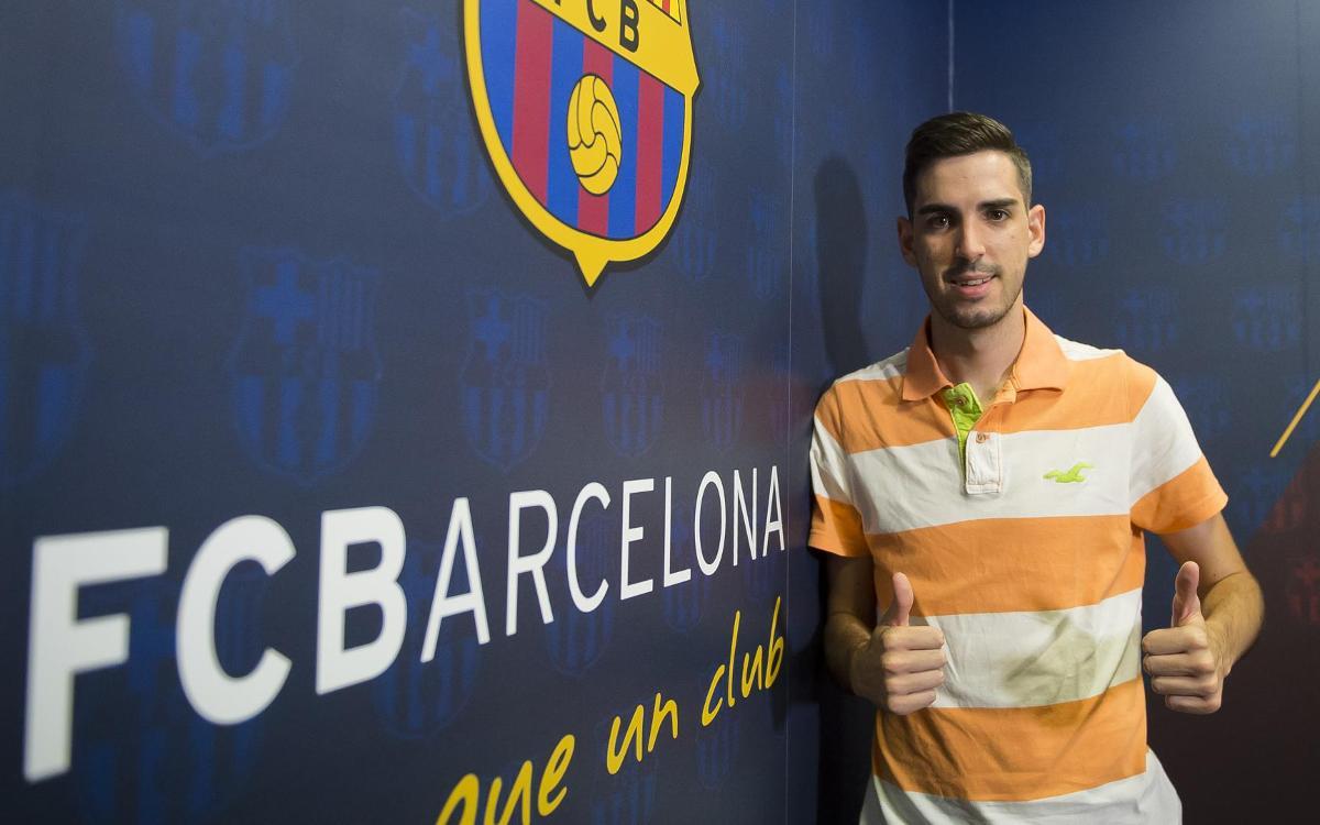 Adrián Ortego torna al Barça Lassa