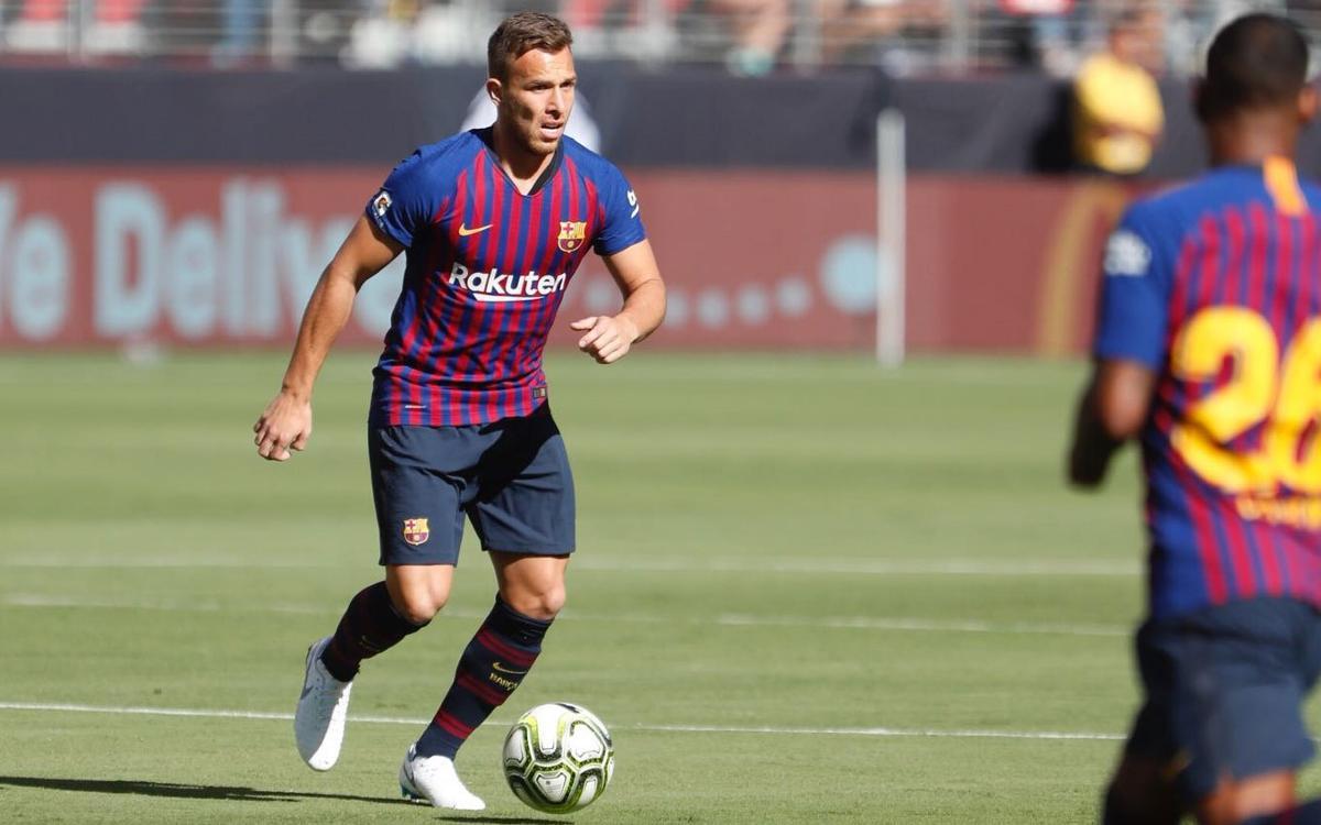 FC Barcelona dominates AC Milan but falls, 1–0, to wrap up US Tour