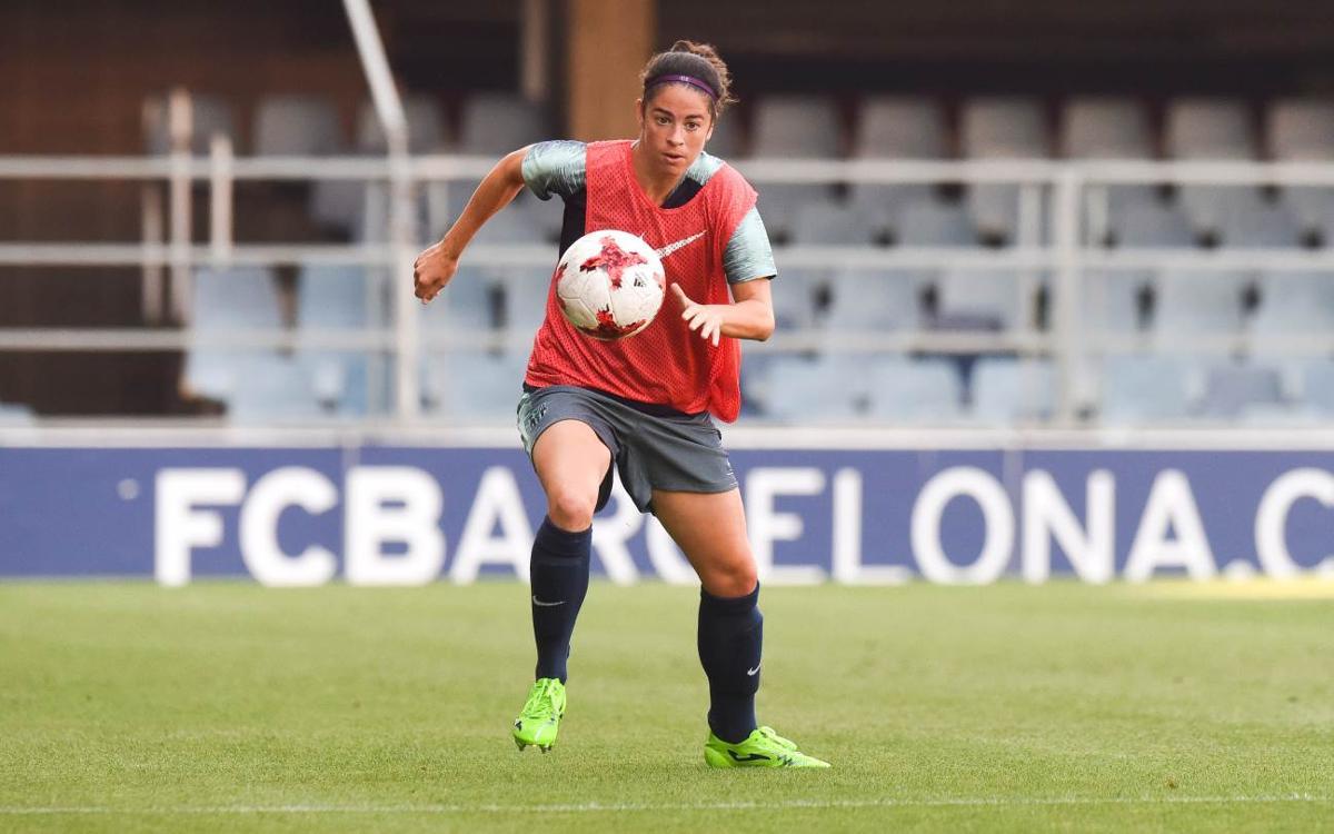 Marta Torrejón, amb una lesió al recte anterior