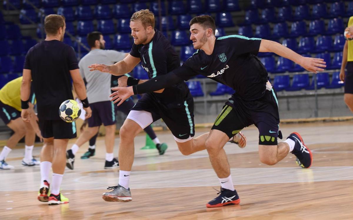 THW Kiel - Barça Lassa: A punt per al primer test de pretemporada
