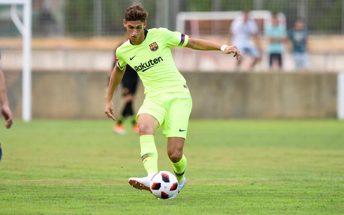 Acuerdo con el CF Peralada-Girona B para la cesión de Santi Bueno