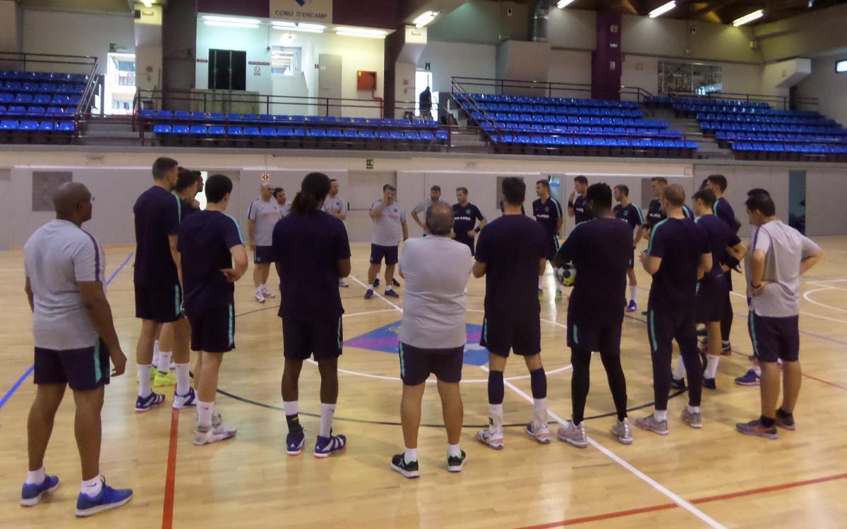 El Barça Lassa ya trabaja en Encamp