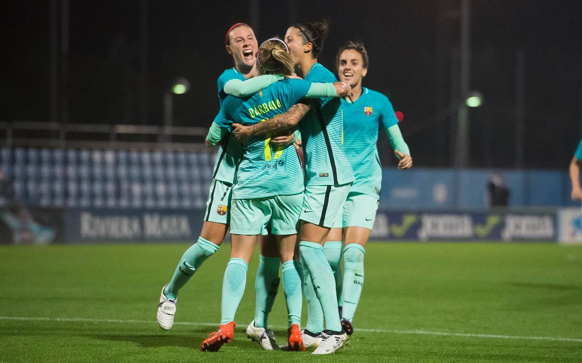 Los cinco goles del año del Barça Femenino