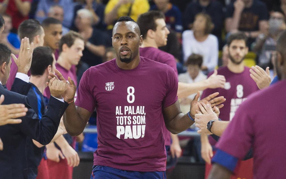 El Barça Lassa Muestra su apoyo a Pau Ribas