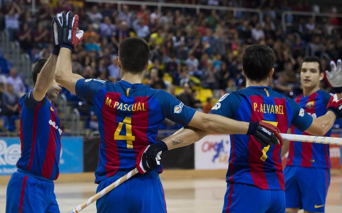 FC Barcelona Lassa – CP Manlleu: A win to stay top (4-0)