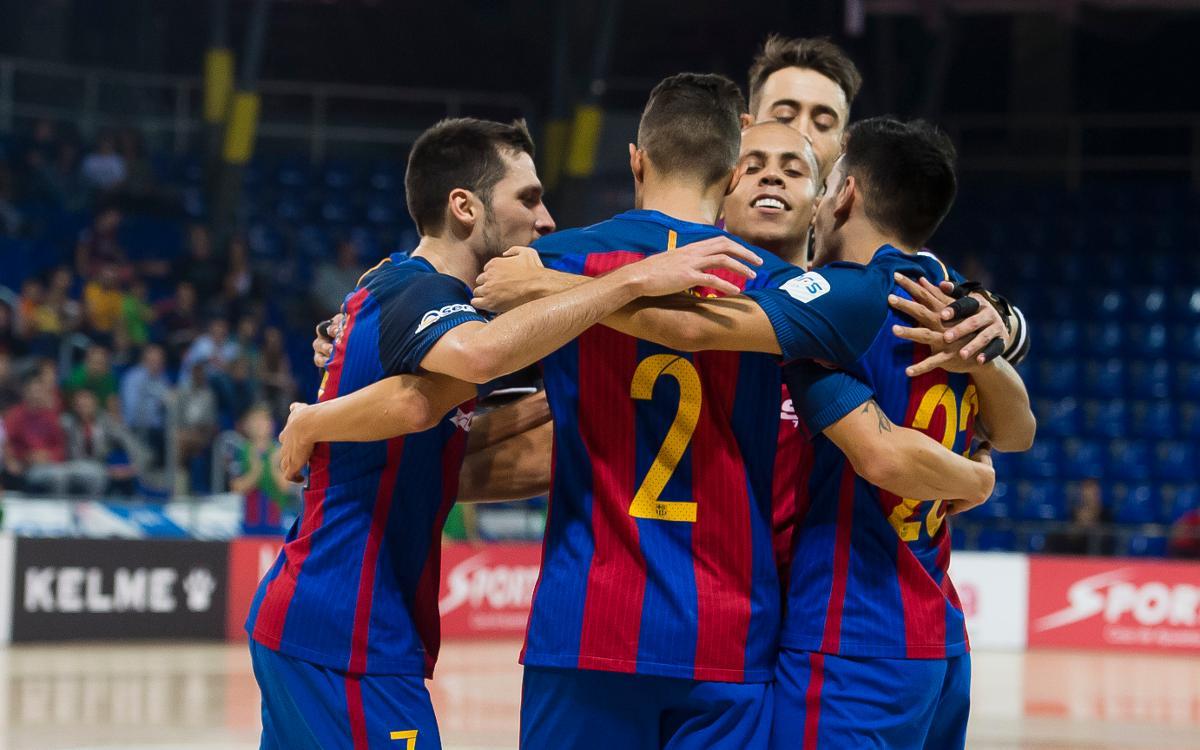 FC Barcelona Lassa v Gran Canària: Barça continue positive run (4-2)