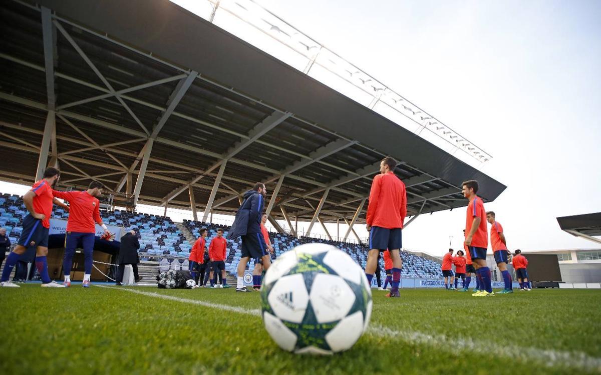 Manchester City FC – Juvenil A: En busca de sellar la clasificación