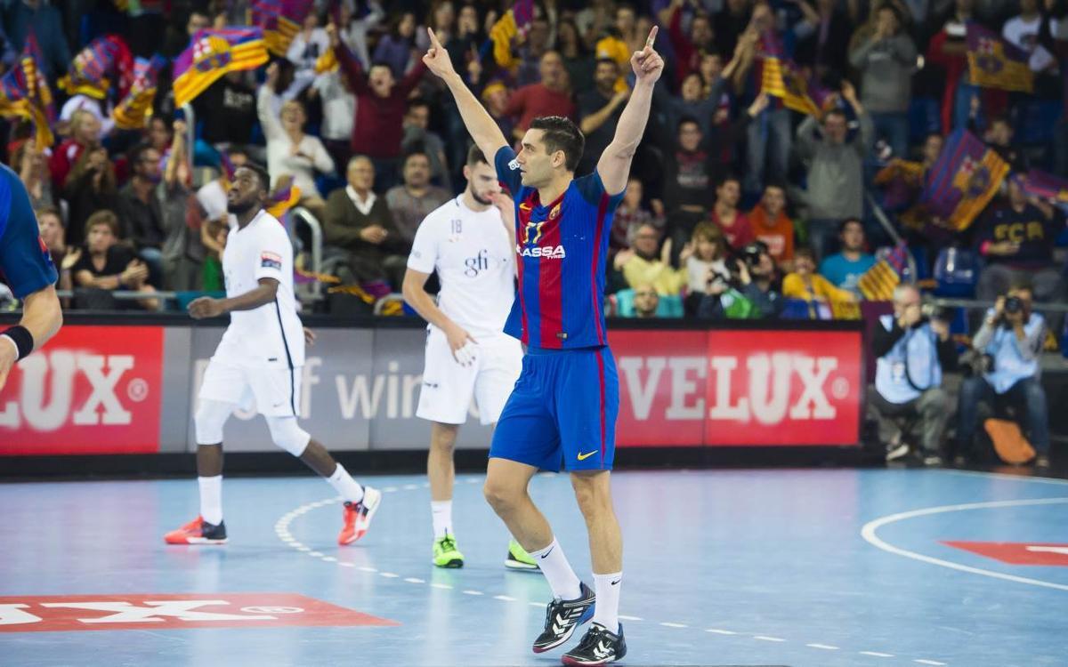 FC Barcelona Lassa – París Saint-Germain: Cop de líder (35-32)