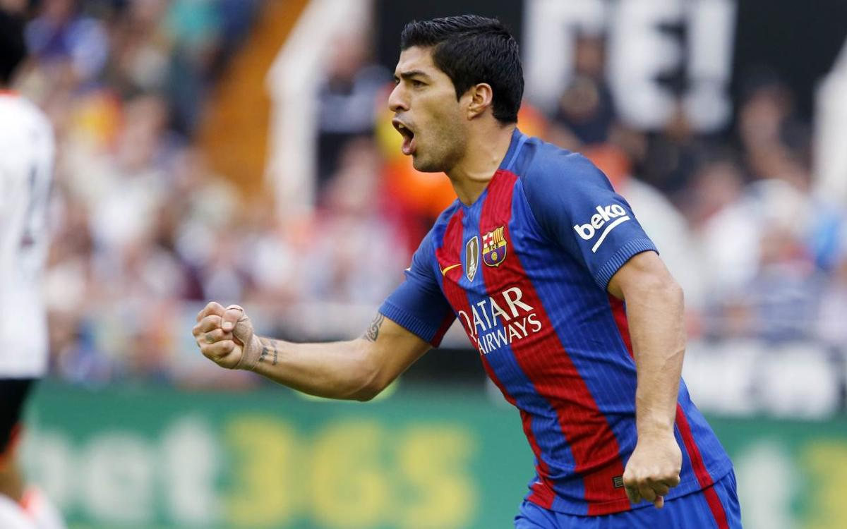 Luis Suárez: 'That's why we're league champions'