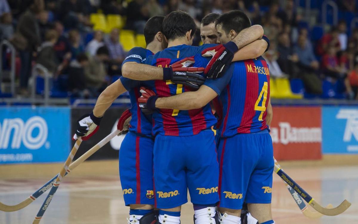 FC Barcelona Lassa – Hockey Bassano: Festival de gols per començar (14-3)