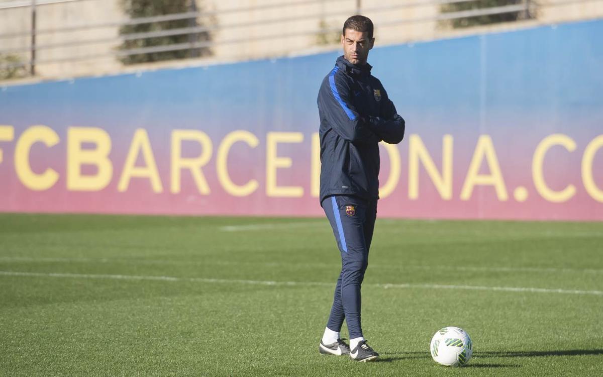 """Gerard López: """"Volem reafirmar el liderat tot i la dificultat del partit"""""""