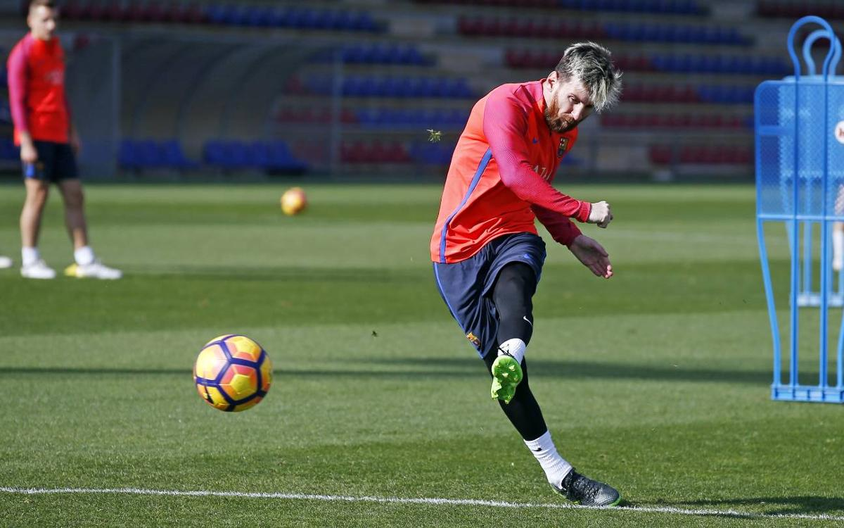 Leo Messi ruled out at the last-minute for game against Málaga