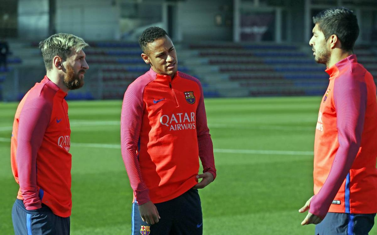 FC Barcelona make final preparations for Liga restart