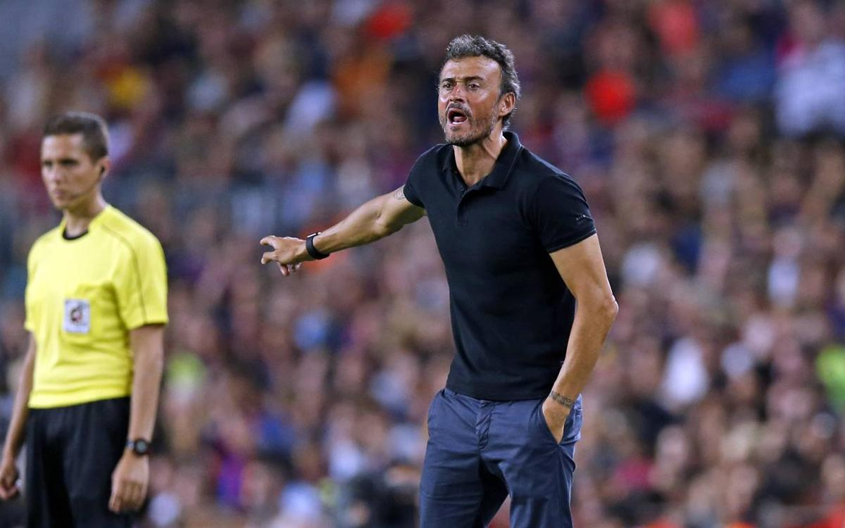 Great win against a great opponent' says Luis Enrique