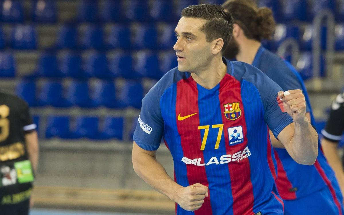 Bidasoa Irún - FC Barcelona Lassa: Paciencia, premio y otra cifra redonda (26-35)