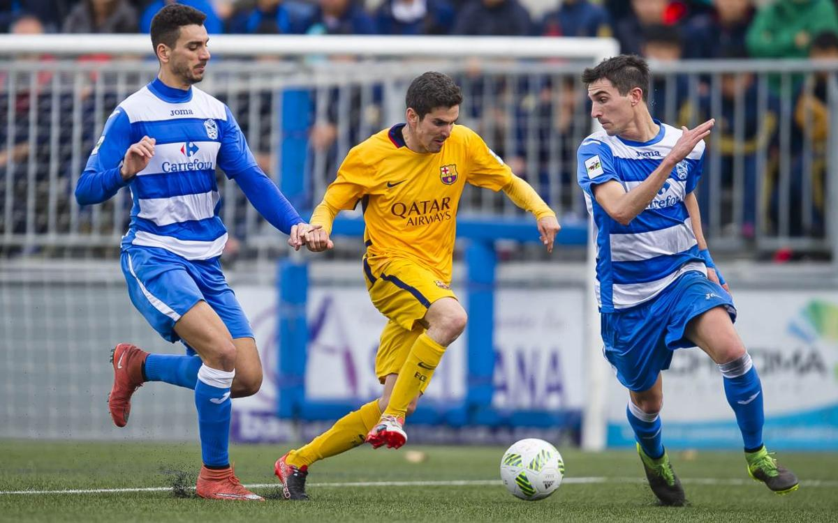 AE Prat v FC Barcelona B: Goalless draw but still top (0-0)