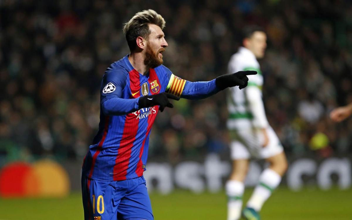セルティックFC – FCバルセロナ: 1位そして16強進出! (0-2)