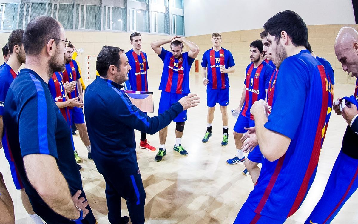FC Barcelona Lassa B- Quabit Guadalajara: Triunfo para seguir soñando (34-31)