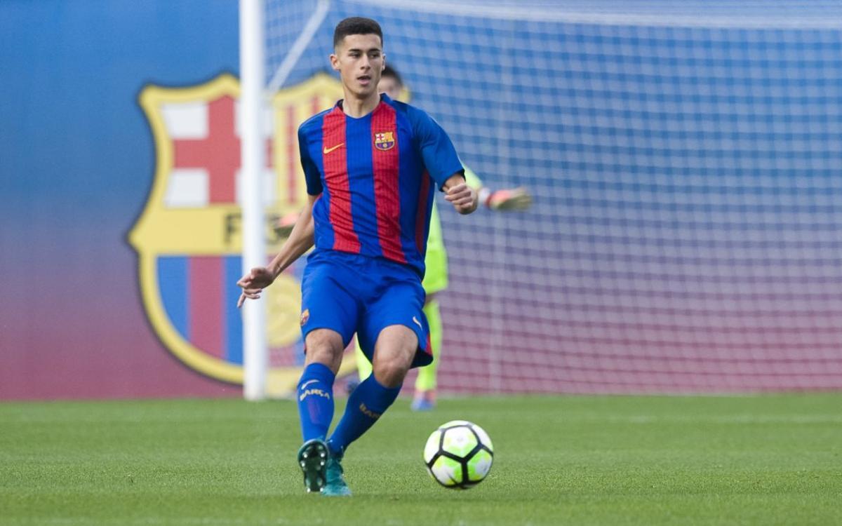 Ocho juveniles del Barça con compromisos de selecciones