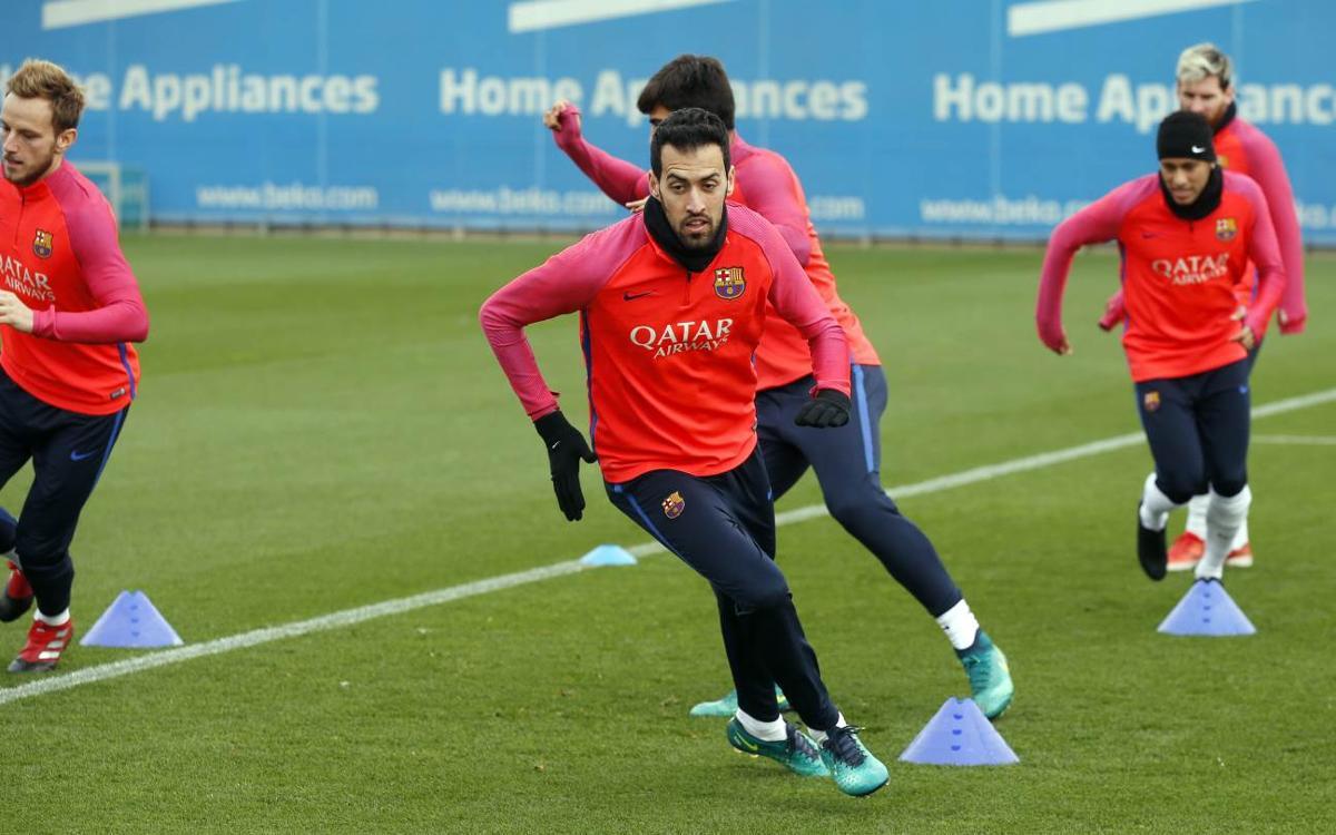 El pla d'entrenaments de la setmana de Copa i Clàssic