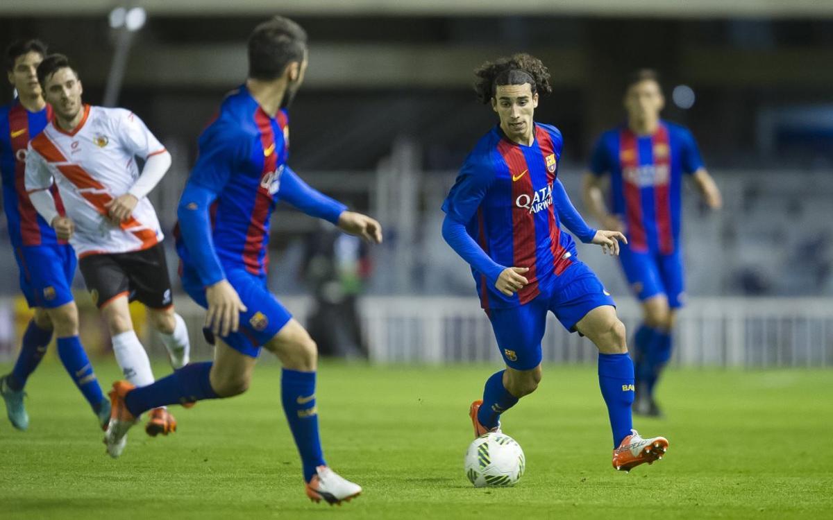 Marc Cucurella, el décimo juvenil en debutar con Gerard López