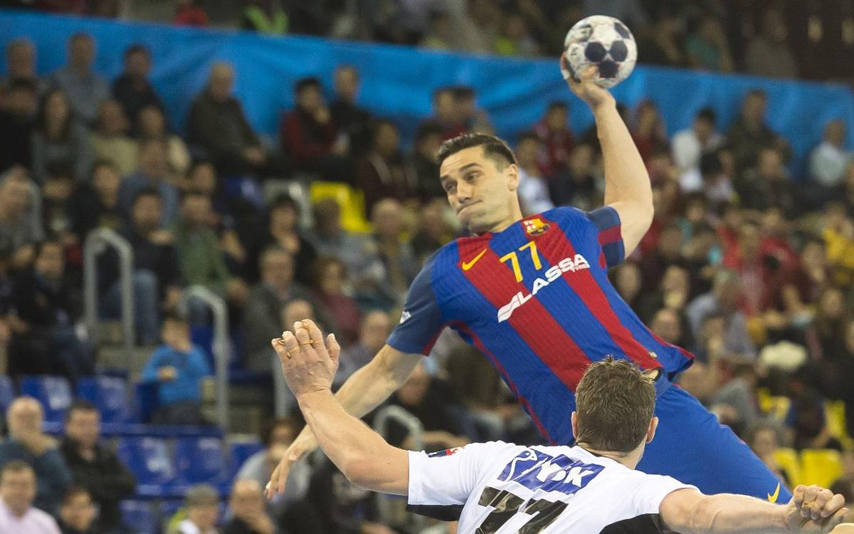 FC Barcelona Lassa- Silkeborg: Contundencia y goles para seguir colíderes (34-19)