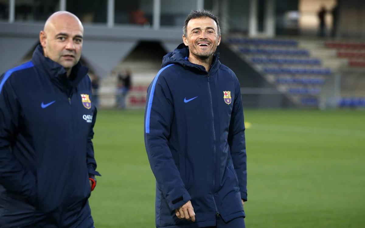 """Luis Enrique: """"Contra l'Osasuna no és un partit qualsevol"""""""