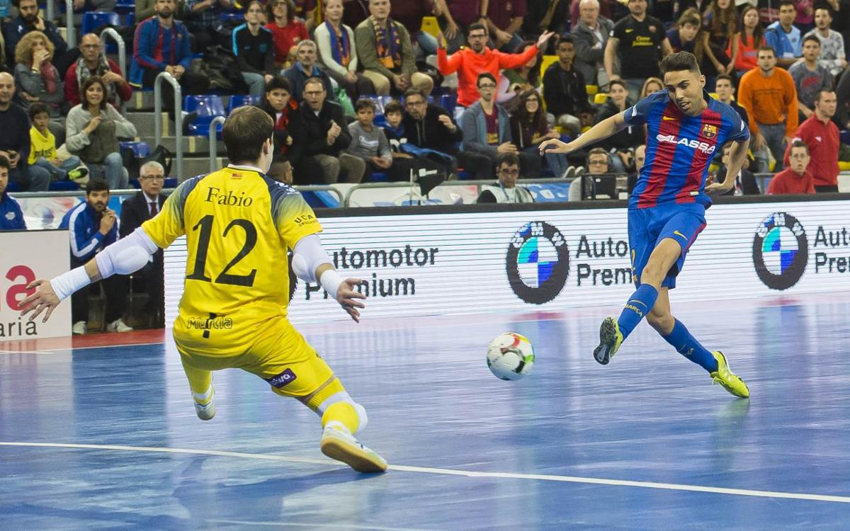 FC Barcelona Lassa - ElPozo Murcia: Se escapan los puntos en el último suspiro (2-3)