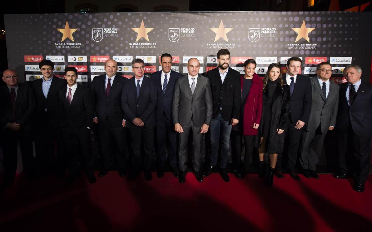 El Barça, protagonista de la 5ª Gala de las Estrellas del Fútbol Catalán