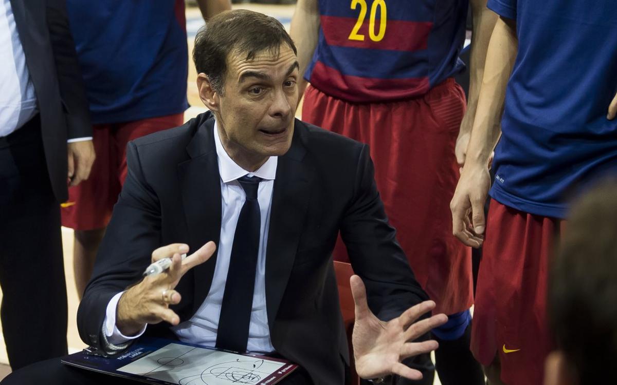 """Bartzokas: """"Gràcies a l'equip per aquesta important victòria"""""""